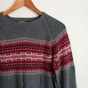 Eddie Bauer Sweaters - Eddie Bauer Fair Isle Sweater Size Medium